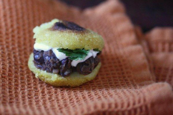 Gluten-Free Is Me: Mini Black Bean Arepas - Feed Me Phoebe