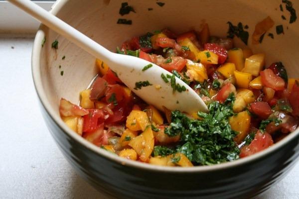 Best Heirloom Tomato Bruschetta Recipe | Easy, Simple Appetizers