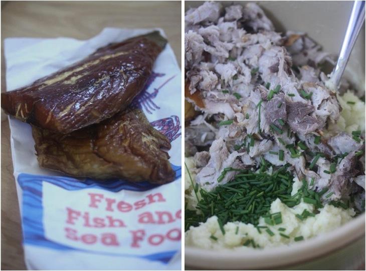 Smoked Fish Cakes With Corn Tartar Sauce Recipe — Dishmaps