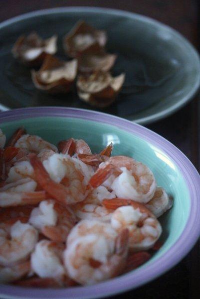 On the Job: Mini Shrimp & Mango Cups - Feed Me Phoebe