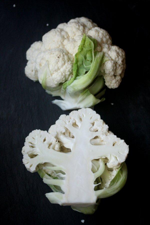 pan roasted cauliflower