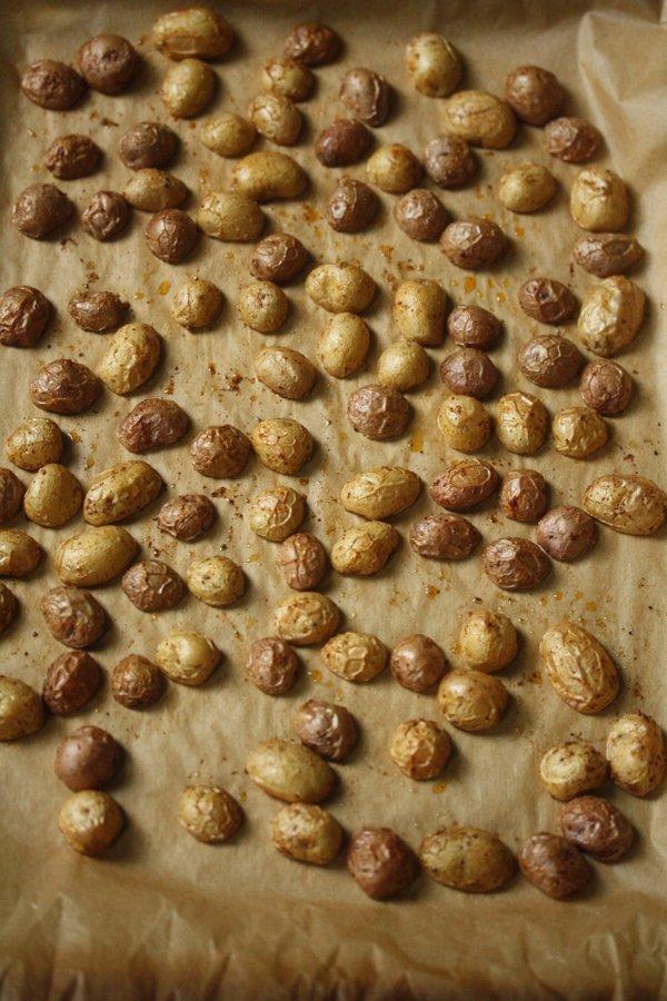 Sumac Roasted Baby Potatoes
