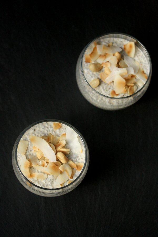 Thai Peanut Chia Pudding