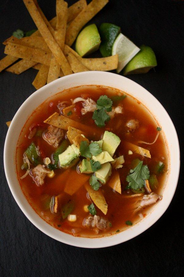 Easy Chicken Tortilla Soup Recipe Spicy, Healthy Gluten-Free Mexican