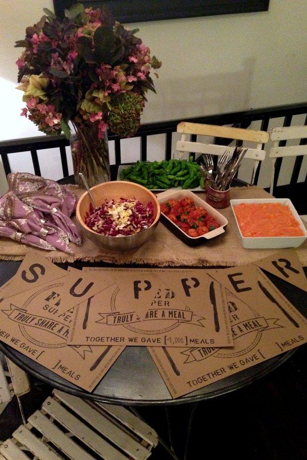 FEED Supper in the Garden // Vegetarian Shepherds PIe