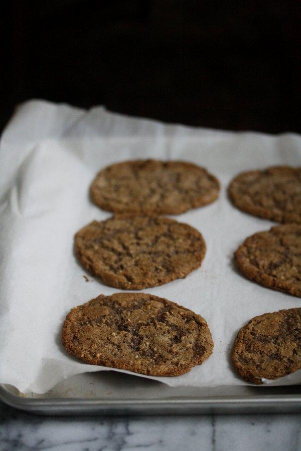 Flourless Gluten-Free Ginger Cookies   Easy Desserts