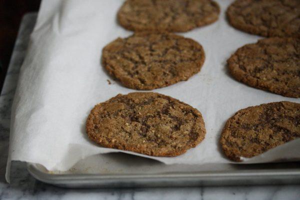 Flourless Gluten-Free Ginger Cookies Gluten-Free | Easy Desserts