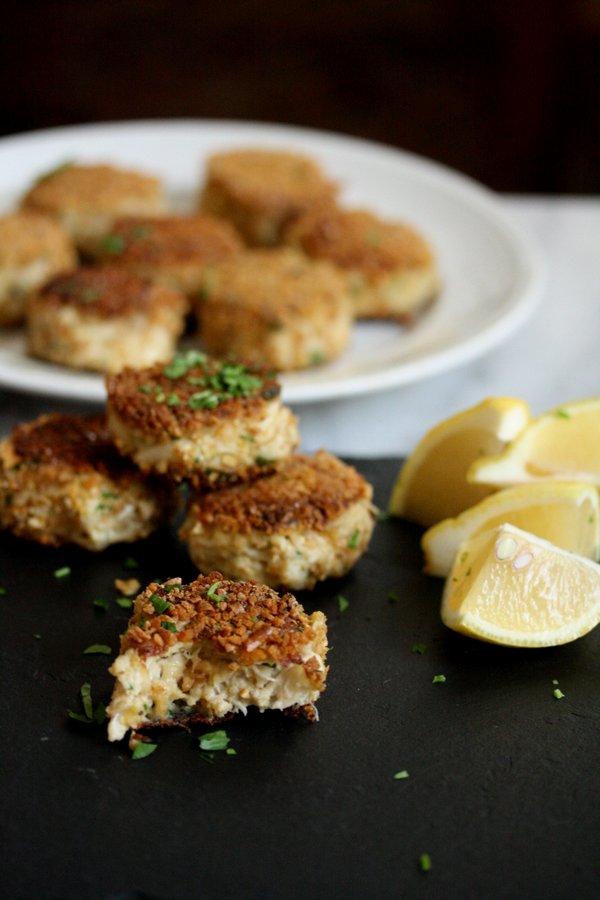 Gluten-Free Crab Cakes with Pretzel Crust | Easy, Healthy ...