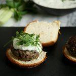 Tastetrotting: Greek Lamb Burgers with Mint Tzatziki