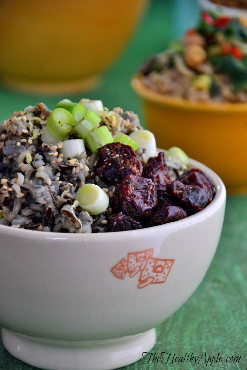 Powerhouse Wild Rice Bowl | Detox Recipe | The Healthy Apple | Amie Valpone