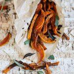 Baked Sweet Potato Fries with Sriracha Aioli (Video + The Wellness Project Sneak Peak!)