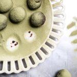 Matcha Green Tea Recipe | Dark Chocolate Vegan Truffles with Matcha | Gluten-Free