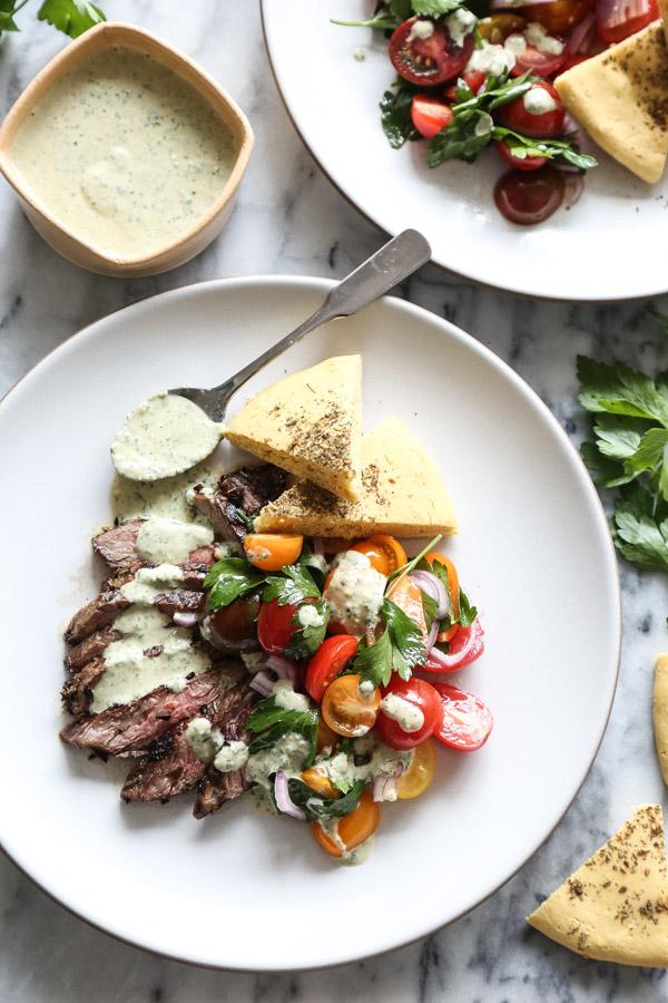 recipe: yogurt steak marinade [33]