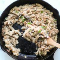 Classic Tuna Noodle Casserole Recipe From Scratch in a Skillet