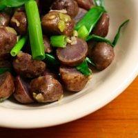 Blue Potato Salad Recipe with Sherry Vinaigrette