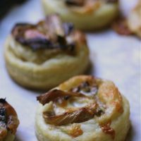 Roasted Fennel & Asiago Tartlettes