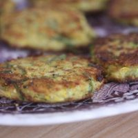 Gluten-Free Is Me: Summer Squash and Cornmeal Cakes