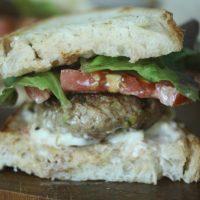 Sausage, Lettuce & Tomato Sandwiches (SLT's!)
