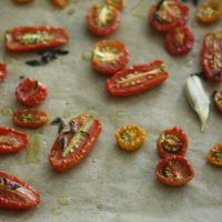The Balanced Diet: Slow-Roasted Cherry Tomatoes