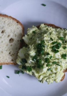 Caper-Chive Deviled Egg Sandwiches