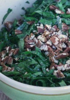 Kale Salad with Bagna Cauda Vinaigrette