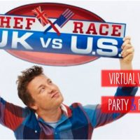 Chef Race: Virtual Viewing Party, All-American Potluck & Giveaway!