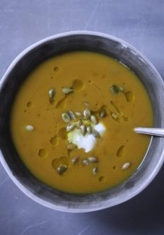 The Balanced Diet: Five Spice Roasted Winter Squash Soup