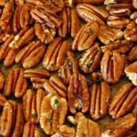 Green Bean Recipe with Rosemary Pecans