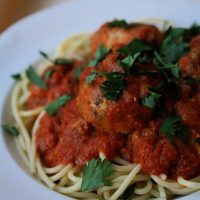 On the Job: Spaghetti and Meatballs a Piperade