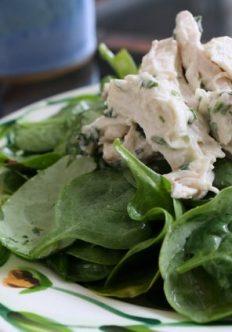 Lemony Tarragon Chicken Salad
