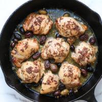 Mediterranean Baked Chicken with Kalamata Olives