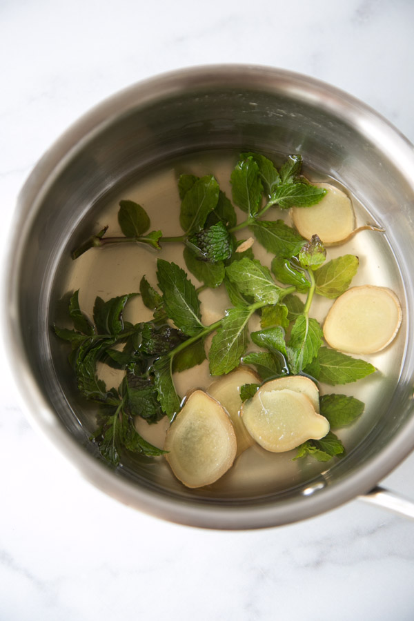 ginger mint simple syrup