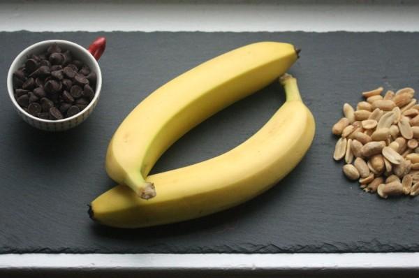 Chocolate, Bananas, and Peanuts for an Easy Chocolate-Covered Banana Recipe