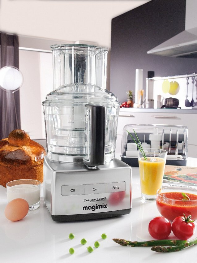 Magimix by Robot-Coupe 4200XL Food Processor (Chrome) LIFESTYLE_SML