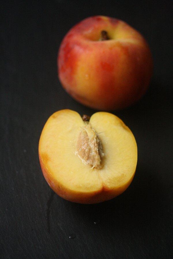 lassi drink recipe with peaches