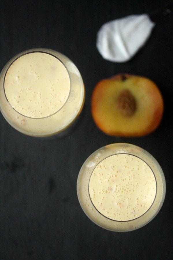 Lassi Recipe featuring Peach