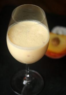 Lassi Drink with Peach