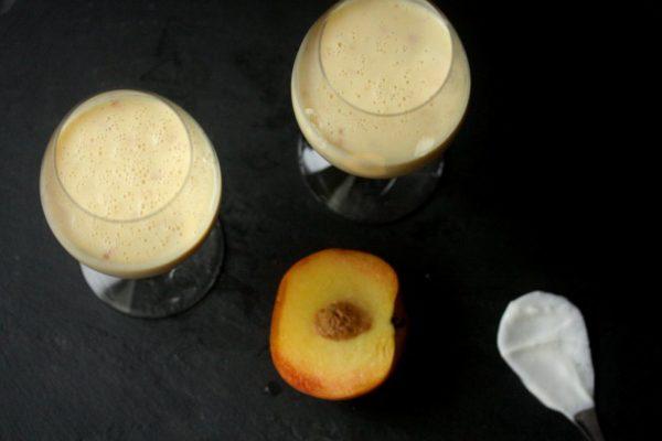 Peach Lassi Recipe