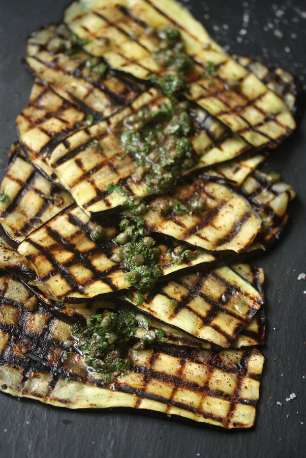 Grill eggplant with this grilled eggplant recipe