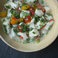 Striped Bass Seafood Ceviche Recipe