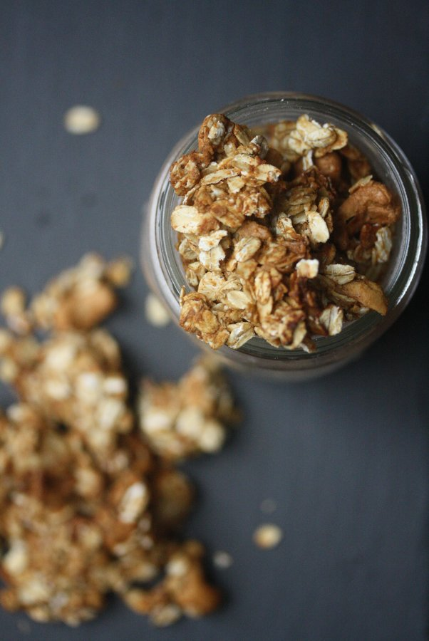 Learn how to make gluten free granola with this vegan gluten free granola recipe