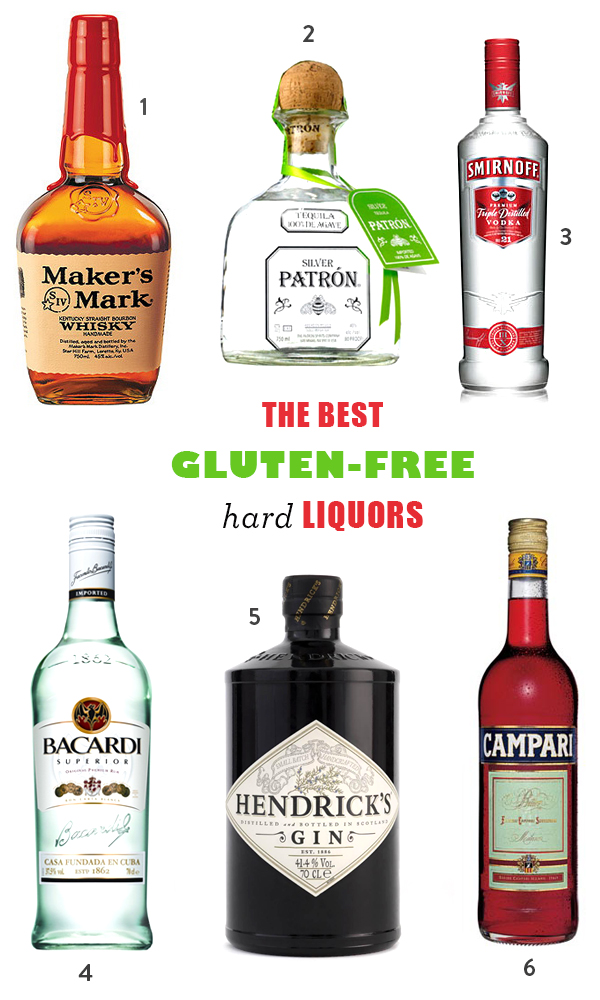 The Best Gluten-Free Hard Liquors and Alcohols