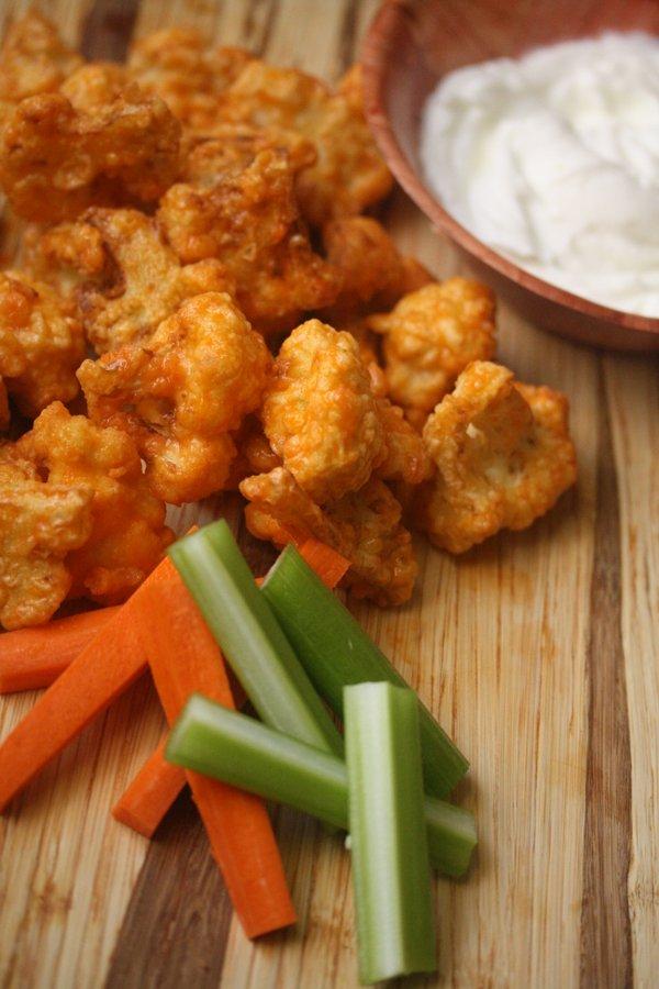 Buffalo Cauliflower Bites Recipe