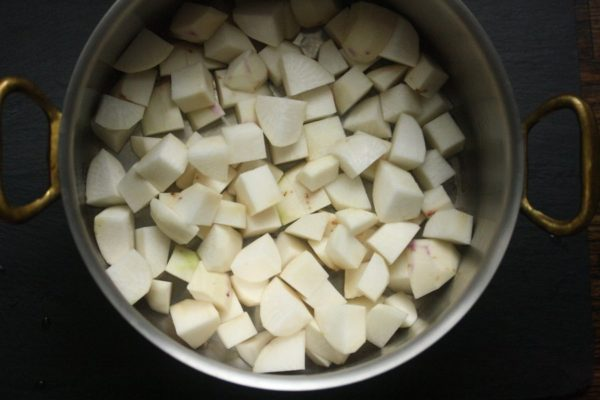 This mashed turnips recipe is one of the best recipes for turnips.