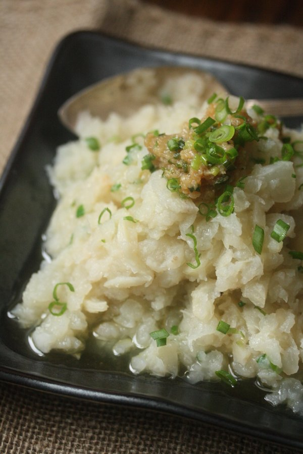 This recipe for turnips features Mashed Turnips with Miso Butter