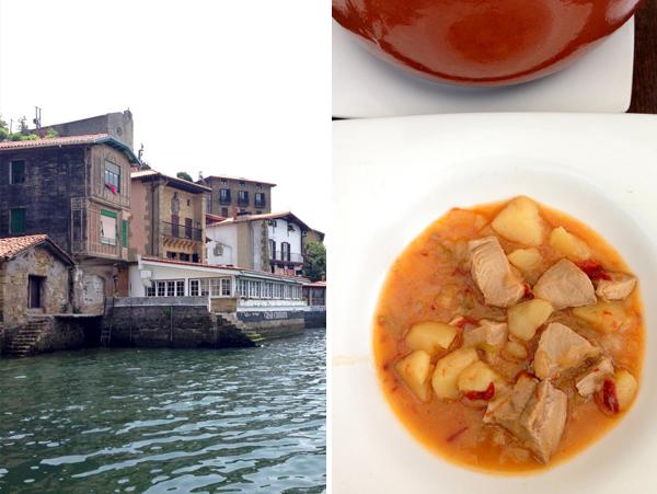 marmitako tuna fish stew is a traditional and classic basque dish