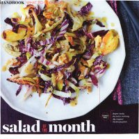 Fennel Salad Recipe: Food & Wine: November Issue, Salad of the Month!