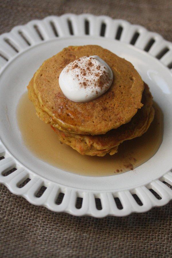 Gluten-Free Carrot Cake Pancakes Recipe | Easy, Healthy Breakfast