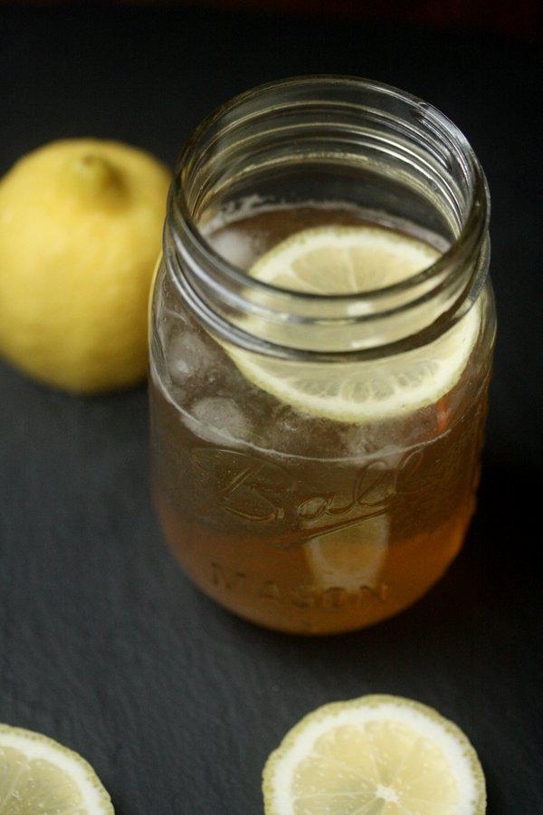 BLT Cocktail - Bourbon, Lemon, and Tonic