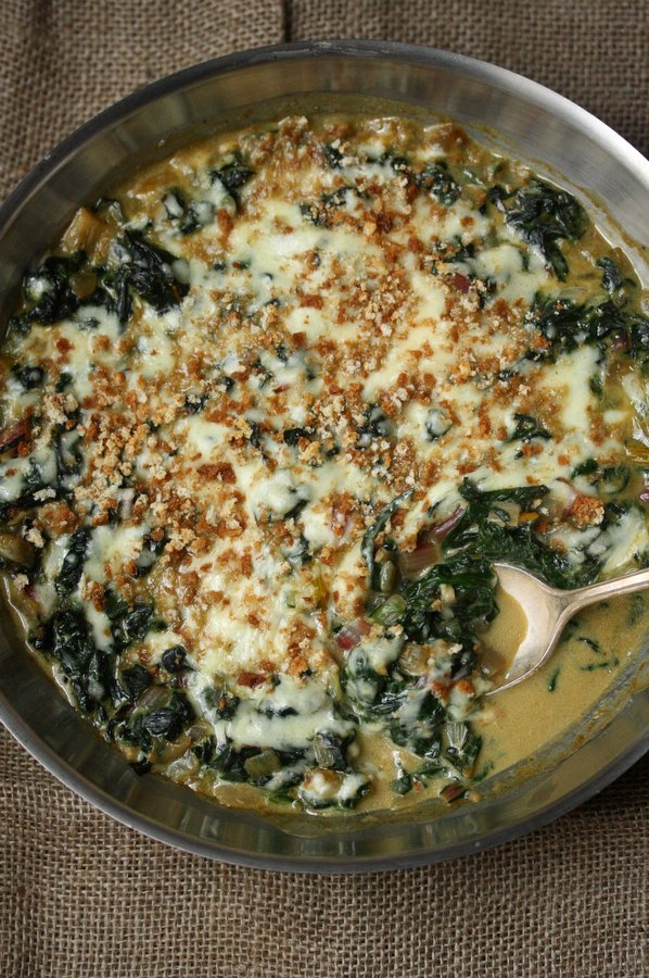 Swiss Chard Gratin Recipe